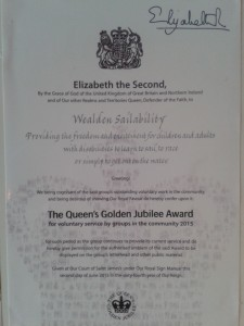 the queens award for volunatry services 2015