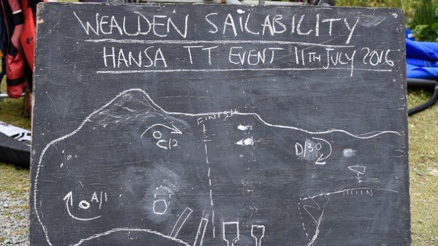 Hansa TT blackboard