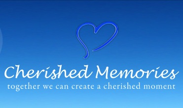 logo for cherished memories