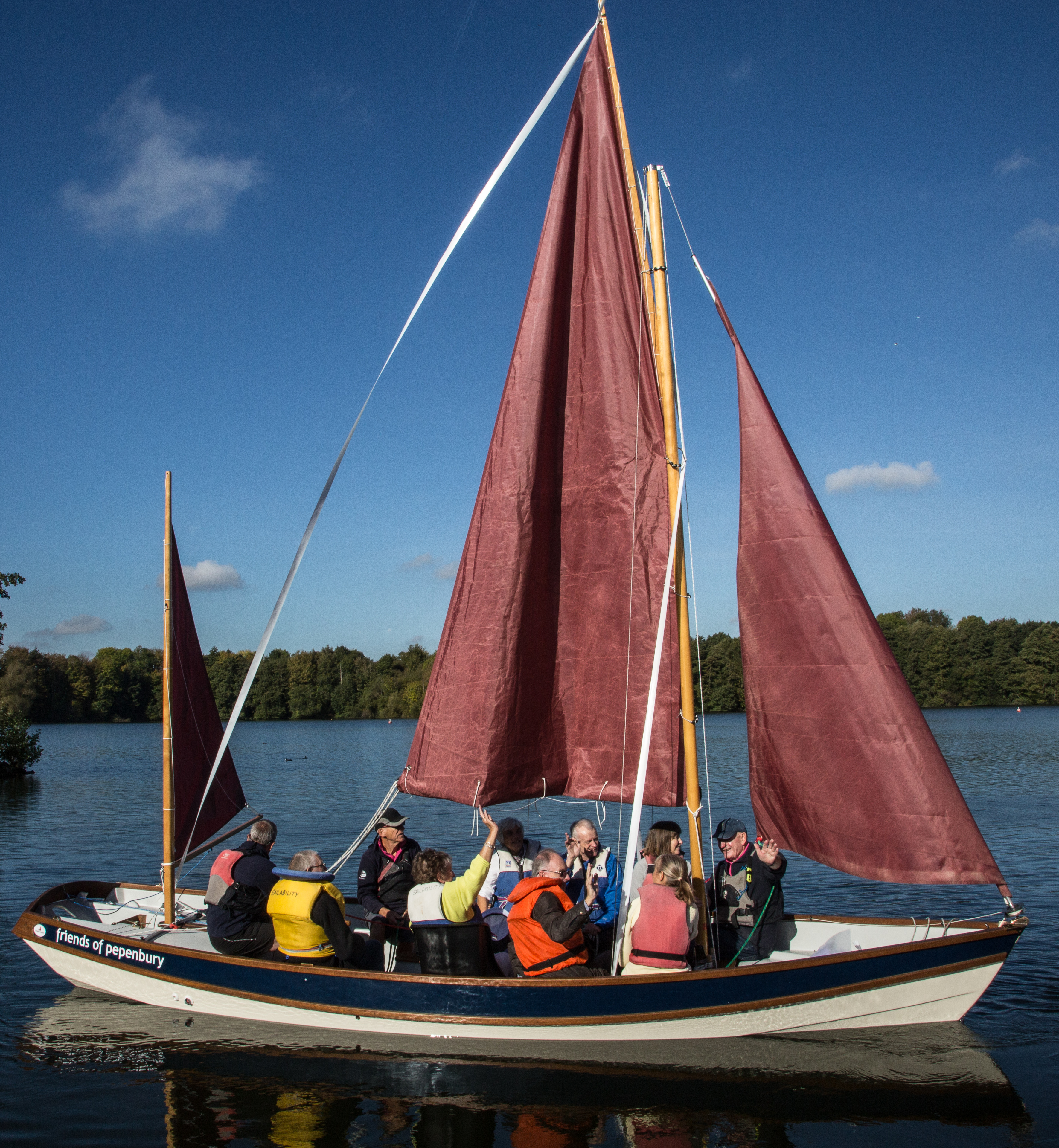 friends of pepenbury sailing away
