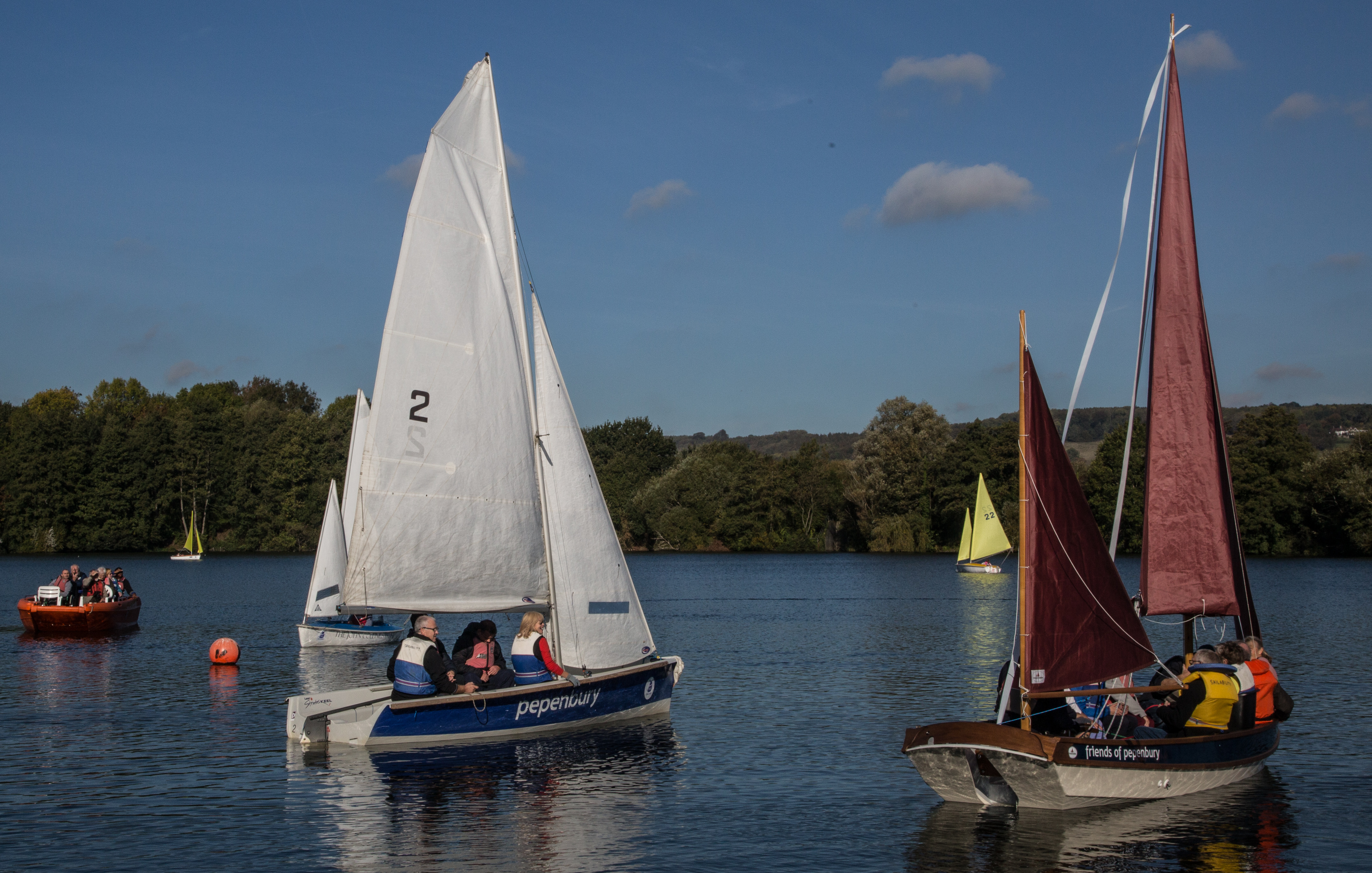 pepenbury old and new sailing together